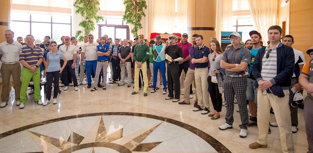 Участники турнира Lawyers Open 2015 в Agalarov Golf & Country Club. golfmir.ru